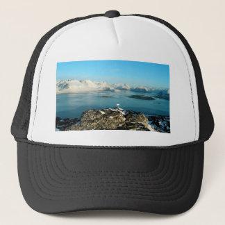 Atlantic scenery trucker hat