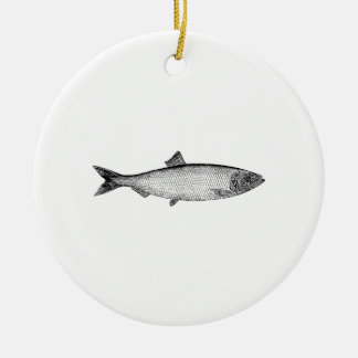 Atlantic Sea Herring Christmas Ornament