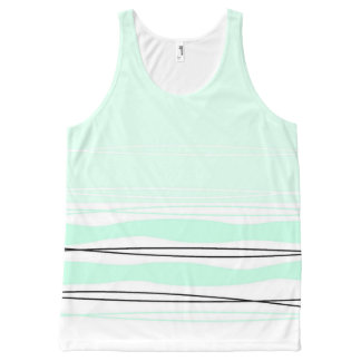 Atlantic Stripe all over tank top