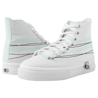 Atlantic Stripe hi top shoe
