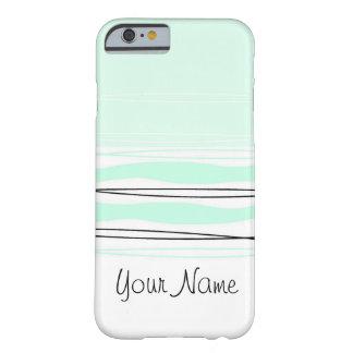 Atlantic Stripe Name Horizontal iPhone 6 case