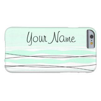 Atlantic Stripe 'Name' Vertical iPhone 6 case