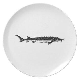 Atlantic Sturgeon Plates