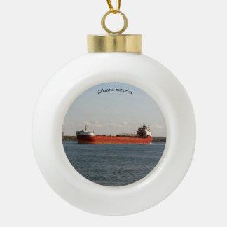 Atlantic Superior ball or snowflake ornament