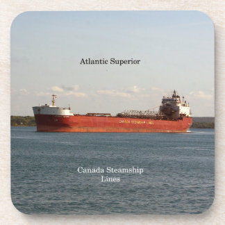 Atlantic Superior set of 6 hard plastic coasters