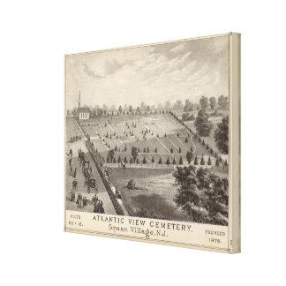 Atlantic View Cemetery, Squan Village, NJ Canvas Print