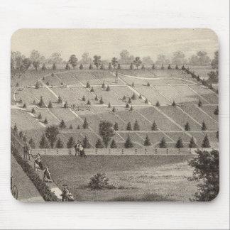 Atlantic View Cemetery, Squan Village, NJ Mouse Mat