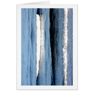 """Atlantic Waves"" Greeting Card"