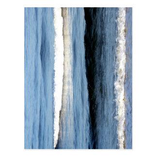 """Atlantic Waves"" Postcard"
