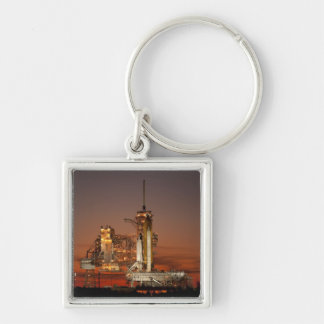 Atlantis awaiting the mission into space key chain