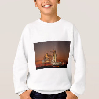 Atlantis awaiting the mission into space sweatshirt