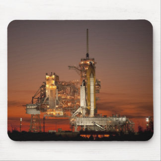 Atlantis awaiting the mission mouse pad