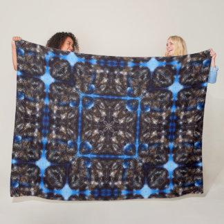 Atlantis Constellation Fantasy Mandala Quilt Fleece Blanket