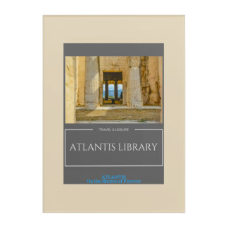 Atlantis Library Wall Art