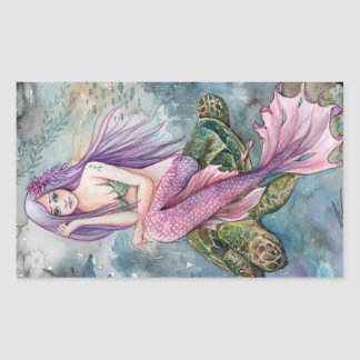 Atlantis Mermaid Sticker
