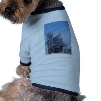 Atlantis on Launch Pad Pet T-shirt