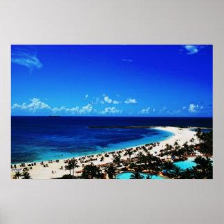 Atlantis, Paradise Island Poster