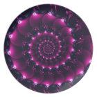 Atlantis seashell (purple) plate