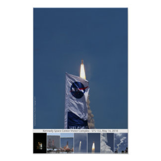 Atlantis Shuttle Launch Print