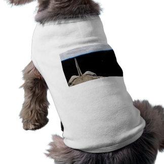 Atlantis Space Shuttle Pet T Shirt