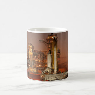 Atlantis Space Shuttle launch NASA Coffee Mug