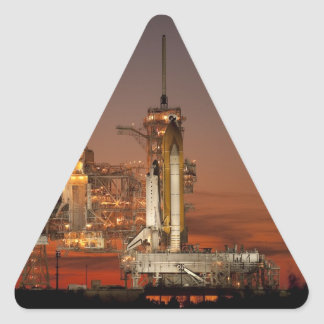 Atlantis Space Shuttle launch NASA Triangle Sticker