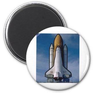 Atlantis Space Shuttle Fridge Magnets