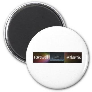 Atlantis Space Shuttle Magnets