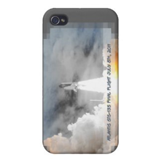 Atlantis Space Shuttle STS-135 Last Flight Cover For iPhone 4