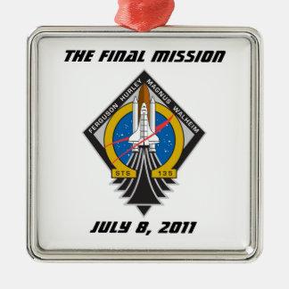 "Atlantis STS-135 ""The Final Mission"" Ornament"