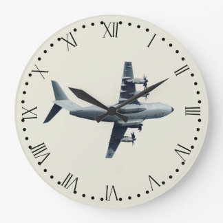 Atlas A400M Aircraft - 1 Large Clock