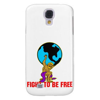 Atlas Fight To Be Free Galaxy S4 Case