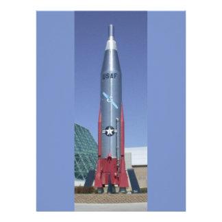 Atlas icbm at strategic air space museum Nebraska Custom Announcements