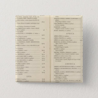 Atlas international 15 cm square badge