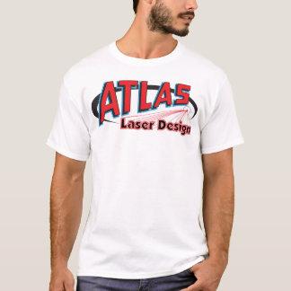 Atlas Laser Design Shirt - Light Colors