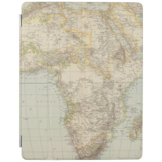 Atlas Map of Africa iPad Cover