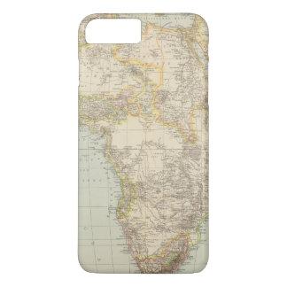Atlas Map of Africa iPhone 8 Plus/7 Plus Case