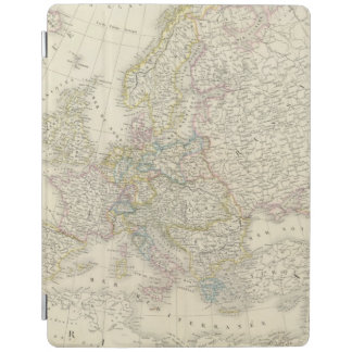 Atlas Map of Europe iPad Cover