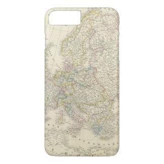 Atlas Map of Europe iPhone 8 Plus/7 Plus Case