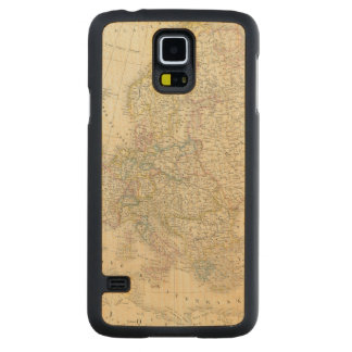 Atlas Map of Europe Maple Galaxy S5 Case