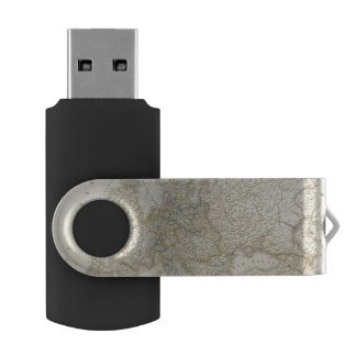 Atlas Map of Europe USB Flash Drive