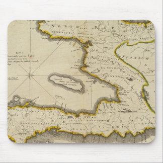 Atlas Map of Haiti Mouse Mat
