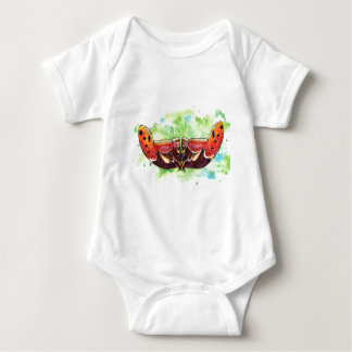 Atlas moth baby bodysuit
