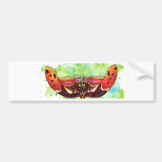 Atlas moth bumper sticker