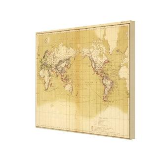 Atlas of 1550 canvas print