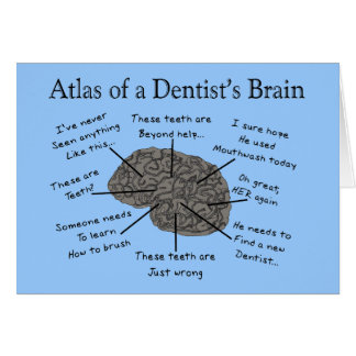 Atlas of a Dentist's Brain Card