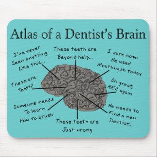 Atlas of a Dentist's Brain Mouse Mat