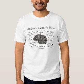 Atlas of a Dentist's Brain Tshirts