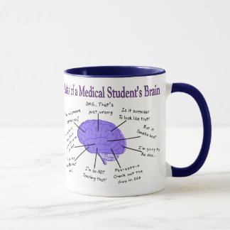 Atlas of a Medical Student's Brain #2 Mug
