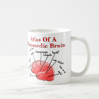 Atlas of a Paramedic Brain Coffee Mug